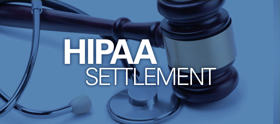 gavel and stethoscope hipaa settlement
